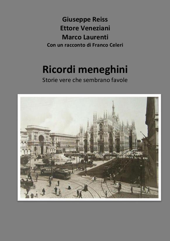 Copertina libro Ricordi Meneghini