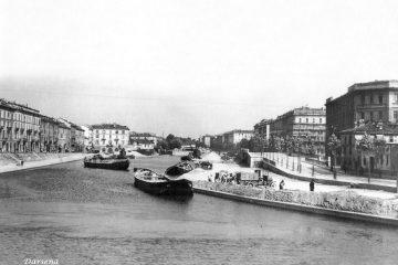La Darsena di Porta Ticinese a Milano
