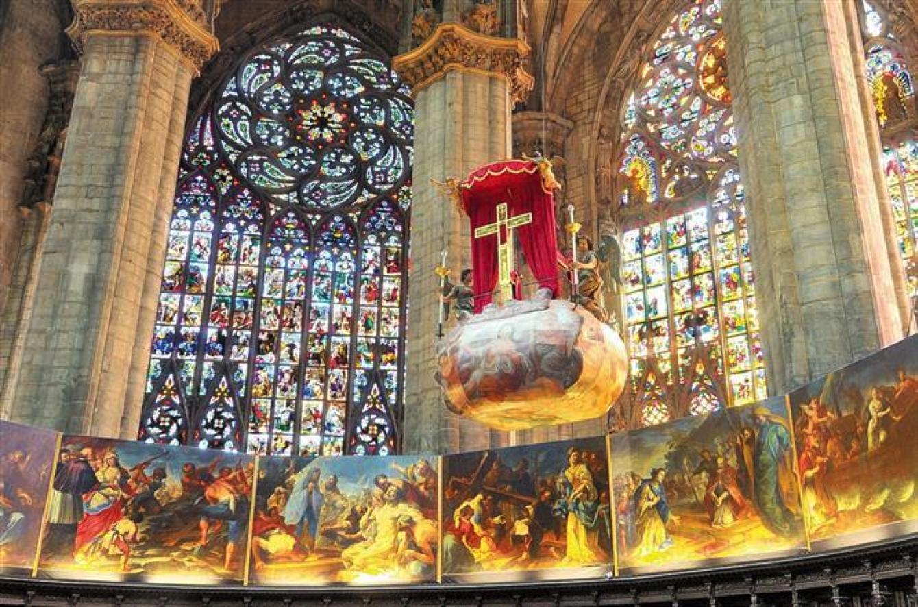 La nivola in Duomo