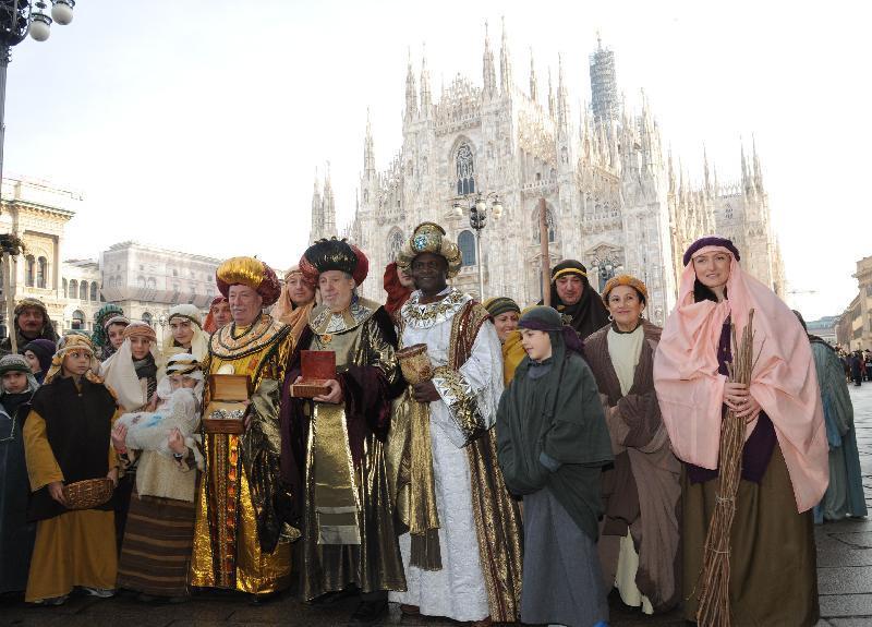 I re magi a Milano